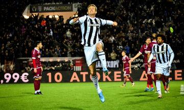 ΠΑΟΚ - ΑΕΛ 1-0: Με το στανιό στην κορυφή (highlights)