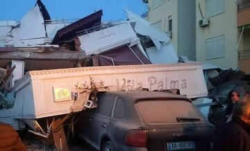 Ισχυρός σεισμός 6,4 βαθμών στην Αλβανία - Πολλοί τραυματίες και εκτεταμένες ζημιές