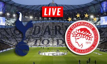 LIVE: Τότεναμ - Ολυμπιακός (22:00)