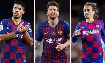 Μπαρτσελόνα: Τέσσερα γκολ μόλις, σε τέσσερις αγώνες στο Champions League!