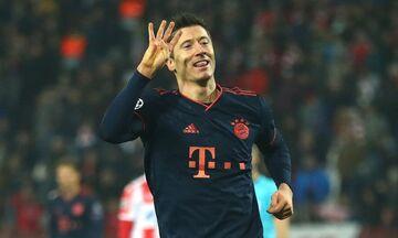 Λεβαντόφσκι: Ο μοναδικός με δυο «καρέ» γκολ στο Champions League!