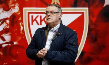 Ο πρόεδρος του Ερυθρού Αστέρα αποκαλύπτει το παρασκήνιο της παραίτησης Τόμιτς