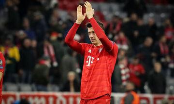 Champions League: MVP της πέμπτης αγωνιστικής ο Λεβαντόφσκι(pic)