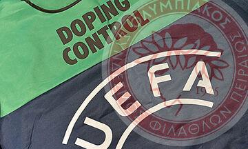 Ο Ολυμπιακός έχει υποβληθεί εννιά φορές σε έλεγχο ντόπινγκ από την UEFA