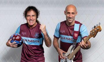 Φανέλα Iron Maiden έβγαλε η West Ham!