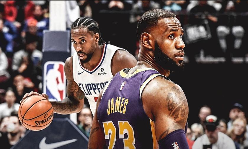 NBA: Οι πέντε πρώτες εβδομάδες - Παραμένουν φαβορί οι Λέικερς και οι Κλίπερς