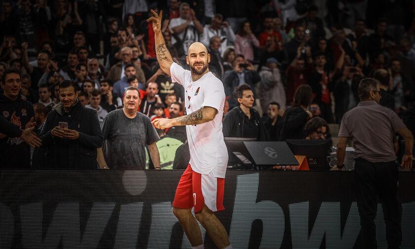Πρώτος σε ranking στην ιστορία της EuroLeague ο Βασίλης Σπανούλης