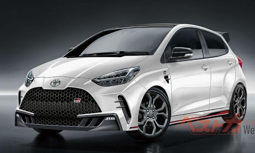 Έτσι θα είναι το Toyota Yaris GR-4 παραγωγής