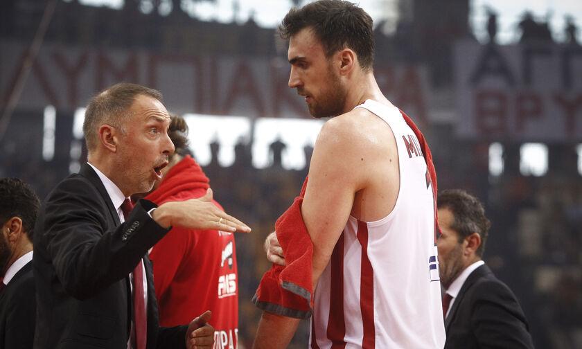 «Θα δούμε που θα είναι του χρόνου ο Μιλουτίνοφ, φυσιολογικό να πάει ο Τόμιτς στον Ολυμπιακό»