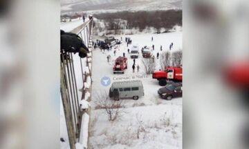Τραγωδία στη Ρωσία: 19 νεκροί και 21 τραυματίες από πτώση λεωφορείου σε ποτάμι