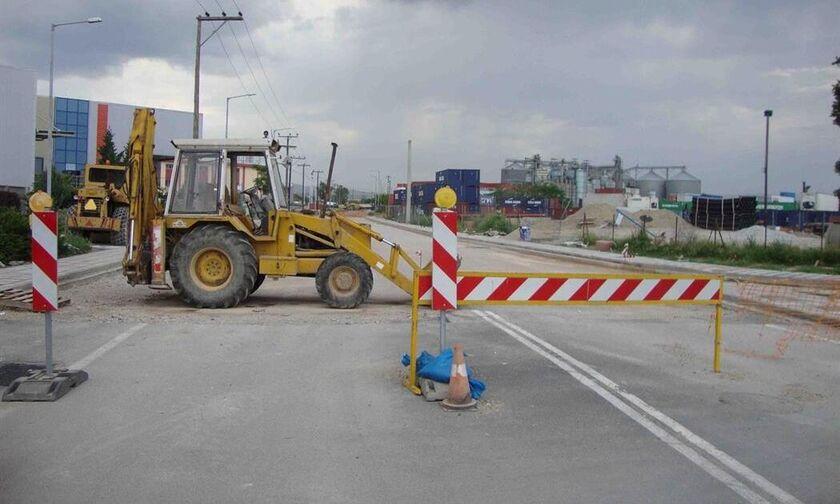 Εργασίες συντήρησης σε τμήματα του οδικού δικτύου