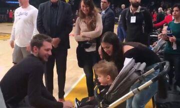 Ντάλας Μάβερικς: Ο Ντόνσιτς συνάντησε το παιδάκι το οποίο είχε βοηθήσει με την θεραπεία του(vid)