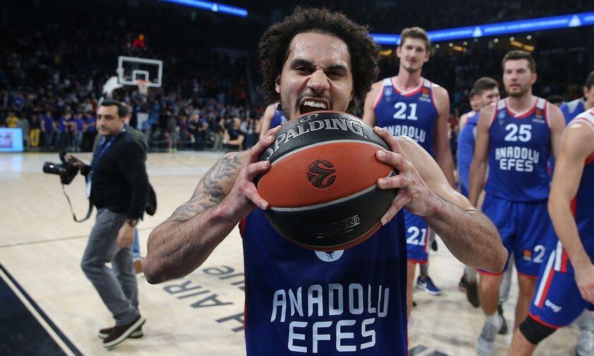 EuroLeague: MVP Νοεμβρίου ο Σέιν Λάρκιν! (vid)