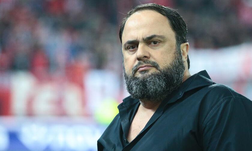 Ο Μαρινάκης ζήτησε από τον Χούμπελ παρέμβαση των UEFA-FIFA για τη διαιτησία στην Ελλάδα