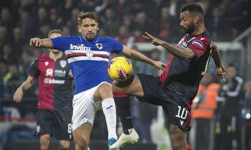 Serie A: Νίκη στις καθυστερήσεις για Κάλιαρι, 4-3 τη Σαμπντόρια (αποτελέσματα, βαθμολογία)