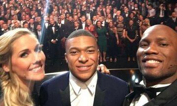 Η selfie που χρωστούσε ο Ντρογκμπά στον Εμπαπέ (vid)