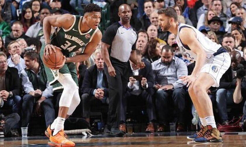 NBA: Έγραψαν ιστορία Ντόντσιτς και Αντετοκούνμπο (pic)