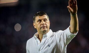 Μιλόγεβιτς: «Δεν σκέφτομαι το ματς με τον Ολυμπιακό»