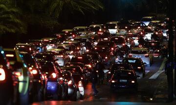 Κυκλοφοριακό κομφούζιο στην Αθήνα - Αυξημένη κυκλοφορία σε αρκετούς δρόμους