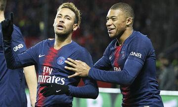 Ligue 1: Με Εμπαπέ-Νέιμαρ η Παρί, «τεσσάρα» η Σεντ Ετιέν, διπλό για Μονακό!