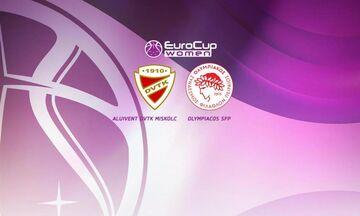 Eurocup Γυναικών: Με την Αλούινβεντ Μίσκολτς ο Ολυμπιακός!