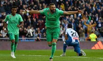La Liga: «Γαλλικά κλειδιά» η Ρεάλ Μαδρίτης στο 2-0 επί της Εσπανιόλ (highlights)