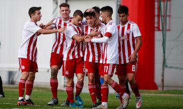 Super League Κ17: Ολυμπιακός - ΑΕΚ 3-1: «Καθάρισε» με Συρμή