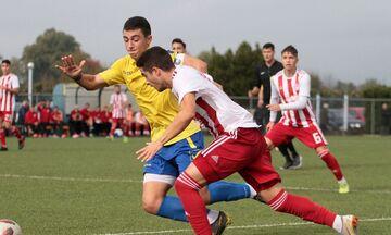 Super League K19: Στραβοπάτημα του Ολυμπιακού, 1-1 στο Αγρίνιο