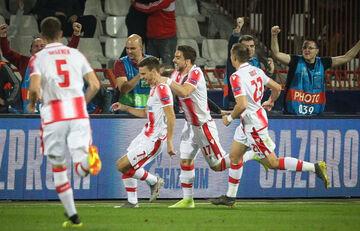 O Ερυθρός Αστέρας 3-1 την Σπαρτάκ Σουμπότιτσα πριν από τον Ολυμπιακό