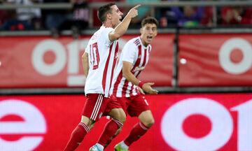 Παναιτωλικός - Ολυμπιακός: Το γκολ του Ποντένσε για το 0-1 (vid)