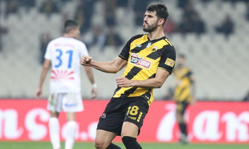 AEK - Πανιώνιος: Τα γκολ του Ολιβέιρα για το 2-0 στο ημίχρονο (vid)