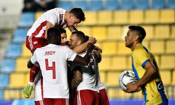 Παναιτωλικός - Ολυμπιακός: Ο Ελ Αραμπί «πυροβολεί» για το 0-2 (vid)