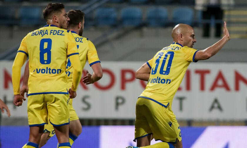 Αστέρας Τρίπολης - ΑΕΛ: Το γκολ του Μπαράλες για το 1-0 (vid)