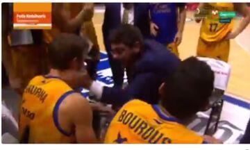 Ισπανία: Η τρομερή εμψύχωση του Κατσικάρη στον παίκτη του (vid)