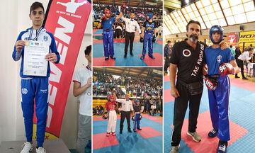 Kick Boxing: Ο 15χρονος Δημήτρης Μαντές θα εκπροσωπήσει την Ελλάδα στο Παγκόσμιο