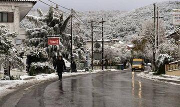 Καταιγίδες και πυκνές χιονοπτώσεις στα ορεινά φέρνει η νέα κακοκαιρία «Διδώ»
