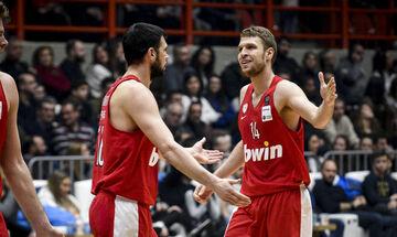 Ολυμπιακός: Βεζένκοφ και Παπανικολάου πρεσβευτές του One-Team της EuroLeague (pic)