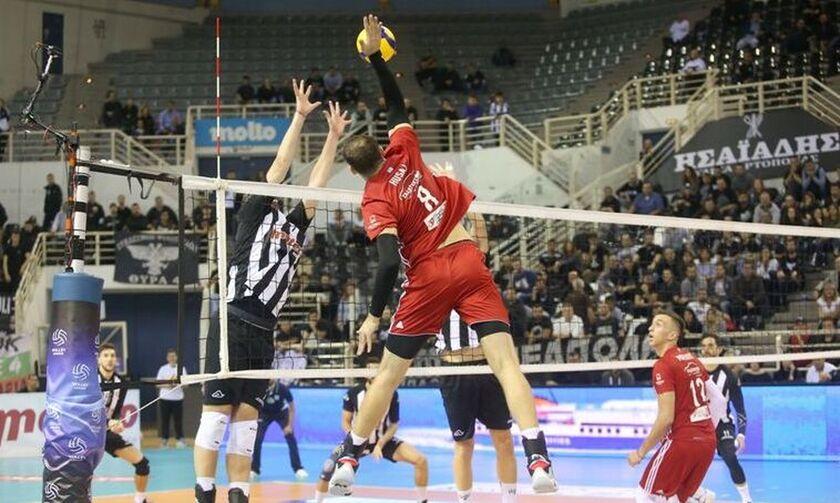 Volleyleague: Πρόστιμα σε ΠΑΟΚ, Ολυμπιακό και Ανδρεάδη