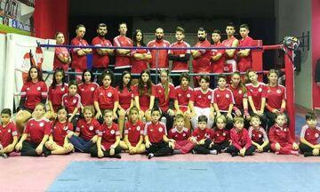 Ολυμπιακός: Πέντε μετάλλια στο Πανελλήνιο Πρωτάθλημα Kickboxing!