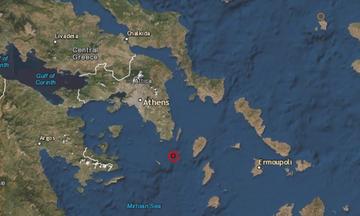 Σεισμός 4,1 Ρίχτερ ανοιχτά του Σουνίου «ξύπνησε» την Αθήνα