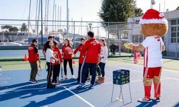 Ολυμπιακός: Η δράση του My Olympic Experience στις εγκαταστάσεις τένις!