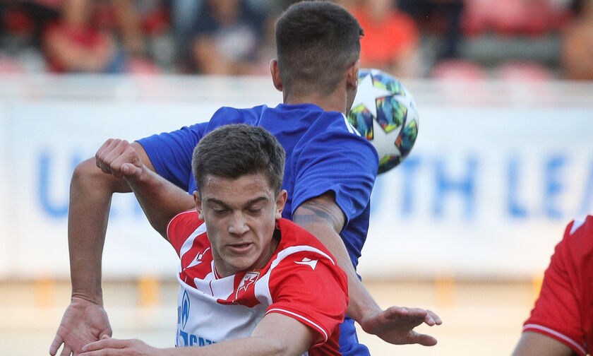 Live streaming: Ολυμπιακός - Ερυθρός Αστέρας Youth League