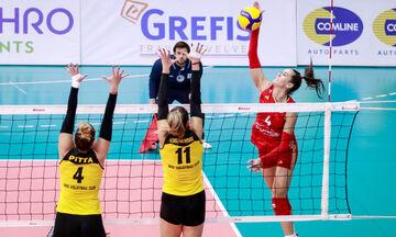 Volley League Γυναικών: Όλα τα αποτελέσματα της ένατης αγωνιστικής και η βαθμολογία