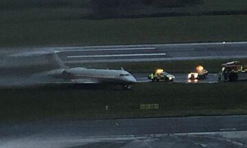 Χάος στο αεροδρόμιο προκάλεσε το τζετ του ιδιοκτήτη της Λίβερπουλ (vid)