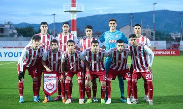 Youth League: Ολυμπιακός - Ερυθρός Αστέρας 0-1: Άξιζε κάτι καλύτερο (highlights)