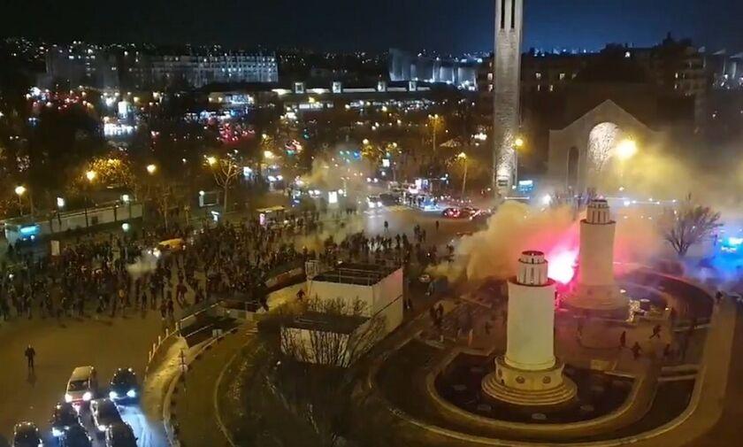 Παρί Σεν Ζερμέν: Επεισόδια στο Παρίσι με οπαδούς των δυο ομάδων (vid)