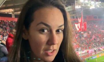 Η Λαζάρεβιτς στο fosonline.gr: «Ολυμπιακός και Ερ. Αστέρας είναι αδέρφια» (vid)