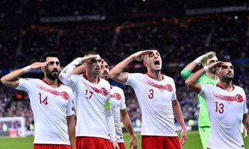 Τούρκικα ΜΜΕ: «Δε θα τιμωρηθεί ο στρατιωτικός χαιρετισμός των παικτών από την UEFA»