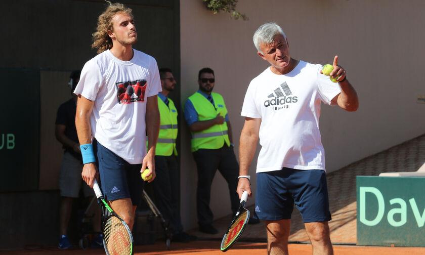 ATP: Υποψήφιος για προπονητής της χρονιάς ο Απόστολος Τσιτσιπάς!