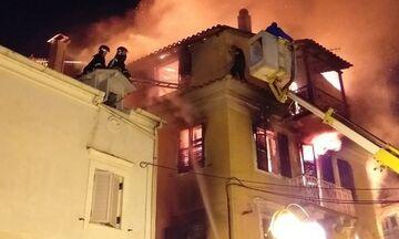 Φωτιά σε μονοκατοικία στην Κέρκυρα
